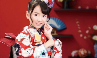 武蔵野創寫舘七五三撮影の7歳の女の子(着物モダンアンテナ)